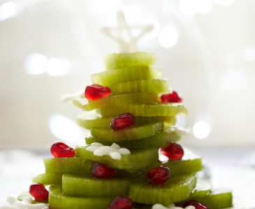 Christmas Kiwi Tree