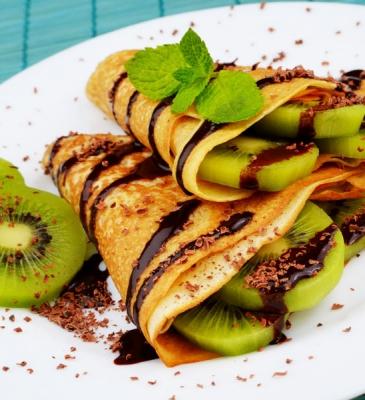 Crêpes Ciocco Kiwi