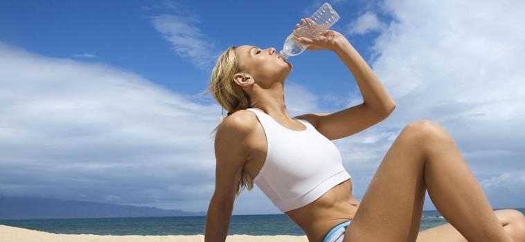Idratazione sotto al sole!