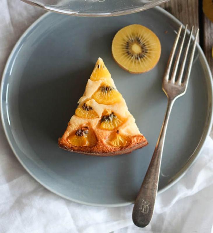 Cheesecake mit Kiwi