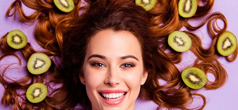 Stop ai capelli grassi… con i kiwi!