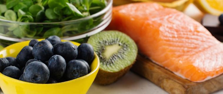 Healthy food per gli occhi