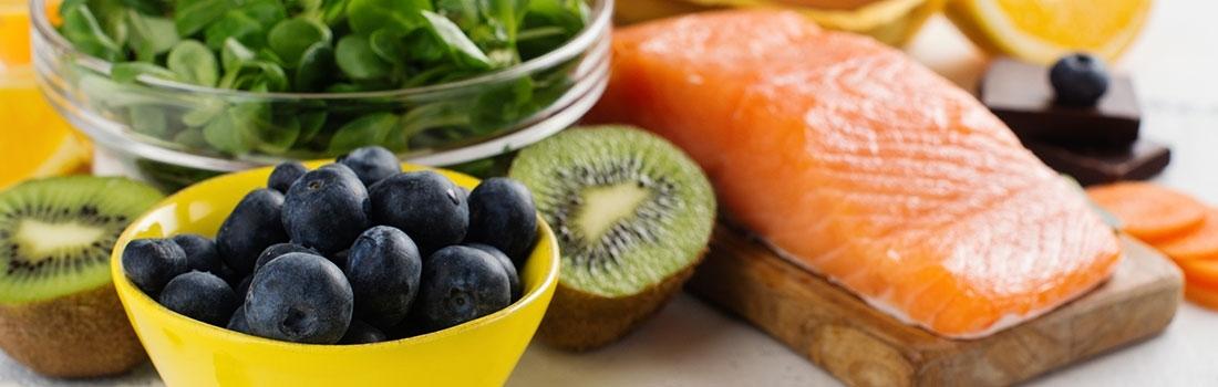 Healthy food für die Augen