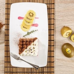 Dessert al kiwi e cocco
