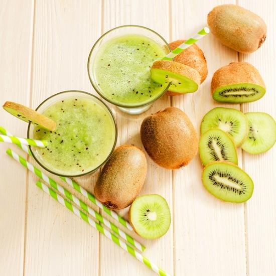 Fruchtiger Kiwi-Shake