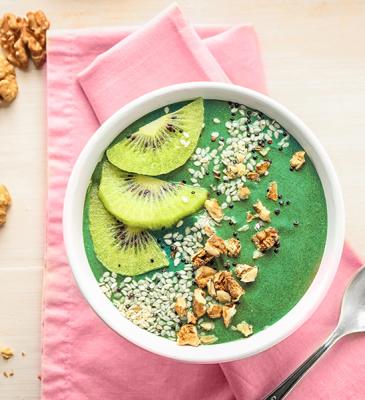 Merenda antiossidante al kiwi
