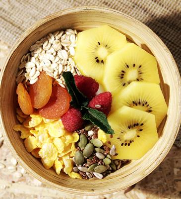 Proteinreicher Porridge