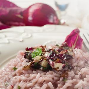 菊苣與奇異果燴飯